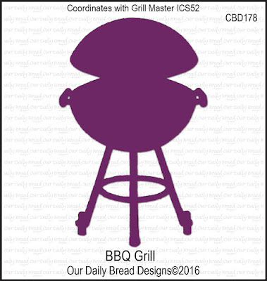 ODBD Custom Die: BBQ Grill