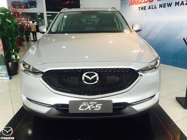 Mazda CX5 2019 Màu Bạc
