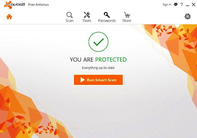 Download the latest Avast 2016 ani-virus for protection from potential malwares and spywares