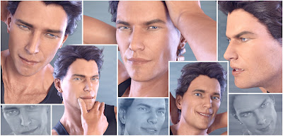 Z Just A Man - Morph Dial Expressions for the Genesis 3 Male