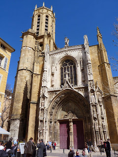 La catedral de Saint-Saveur, Aix en Provence.