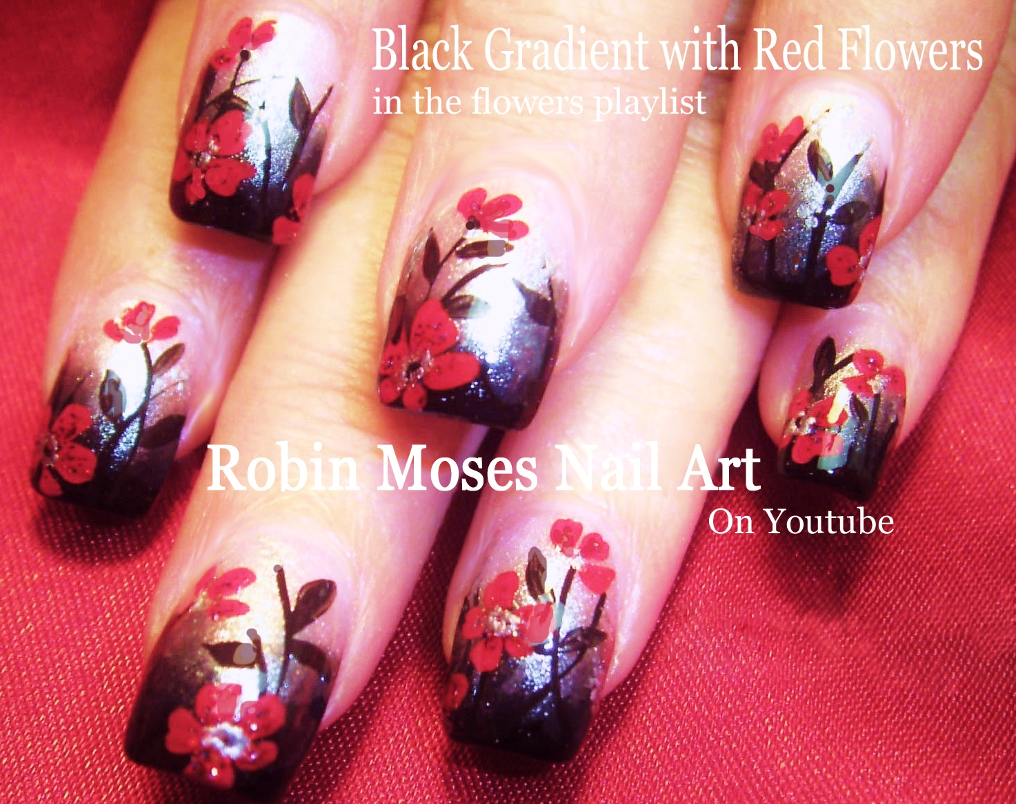 Nail Art by Robin Moses: Trash Polka Nails for halloween! Punk Rock ...