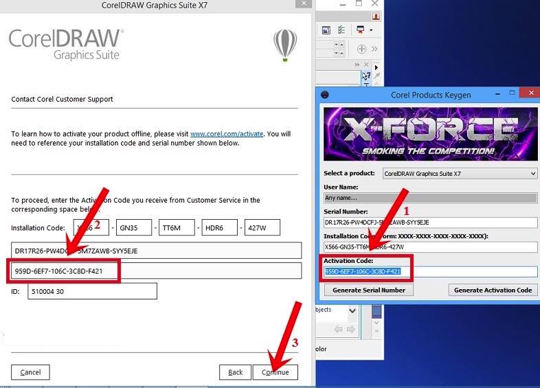 corel draw x8 serial number list