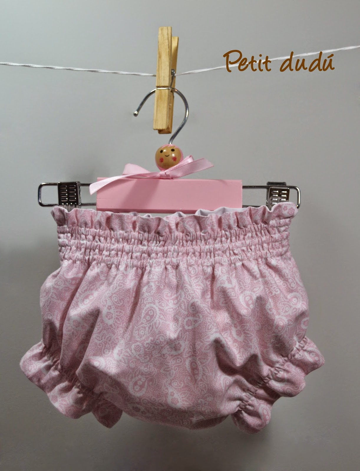 cubrepañal rosa petitdudu