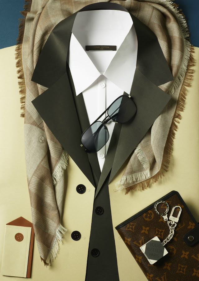ALL TIME FAVORITE - THE PAPER SUITS BY LOUIS VUITTON