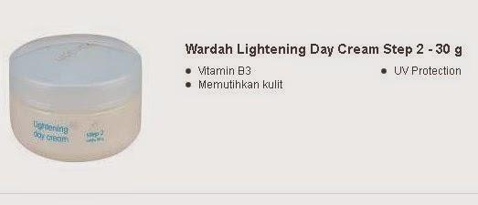 Wardah Lightening Day Cream Step 2 - 30 g