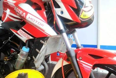 Radiator Sistem Pendingin Sepeda Motor