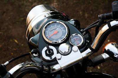 Royal Enfield Bullet 500 speedo mitor