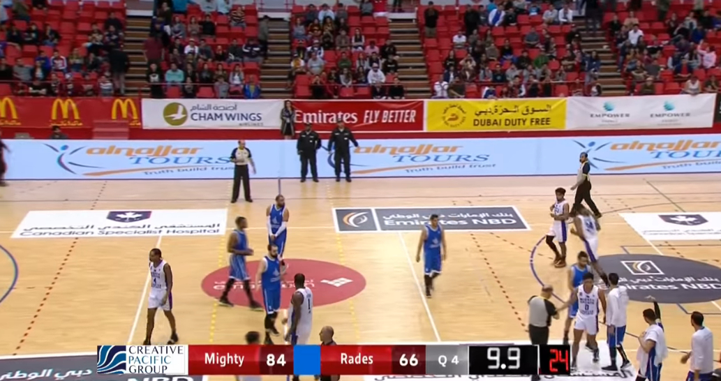 Mighty Sports def. ES Rades-Tunisia, 84-66 (REPLAY VIDEO) Dubai International Basketball Championship | January 28