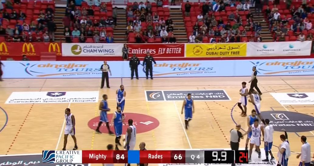 Mighty Sports def. ES Rades-Tunisia, 84-66 (REPLAY VIDEO) Dubai International Basketball Championship | January 28