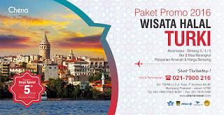 Paket Tour Turki 2016 Promo