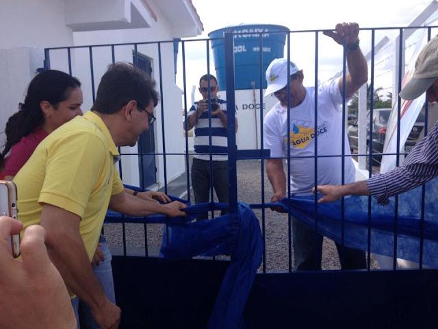 Resultado de imagem para RIACHUELO: Inaugurado o Dessalinizador do Assentamento Patativa do Assaré