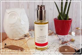 l'huile de soin Citron/citronnelle de Dr Hauschka