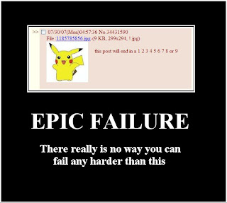 Epic Failure