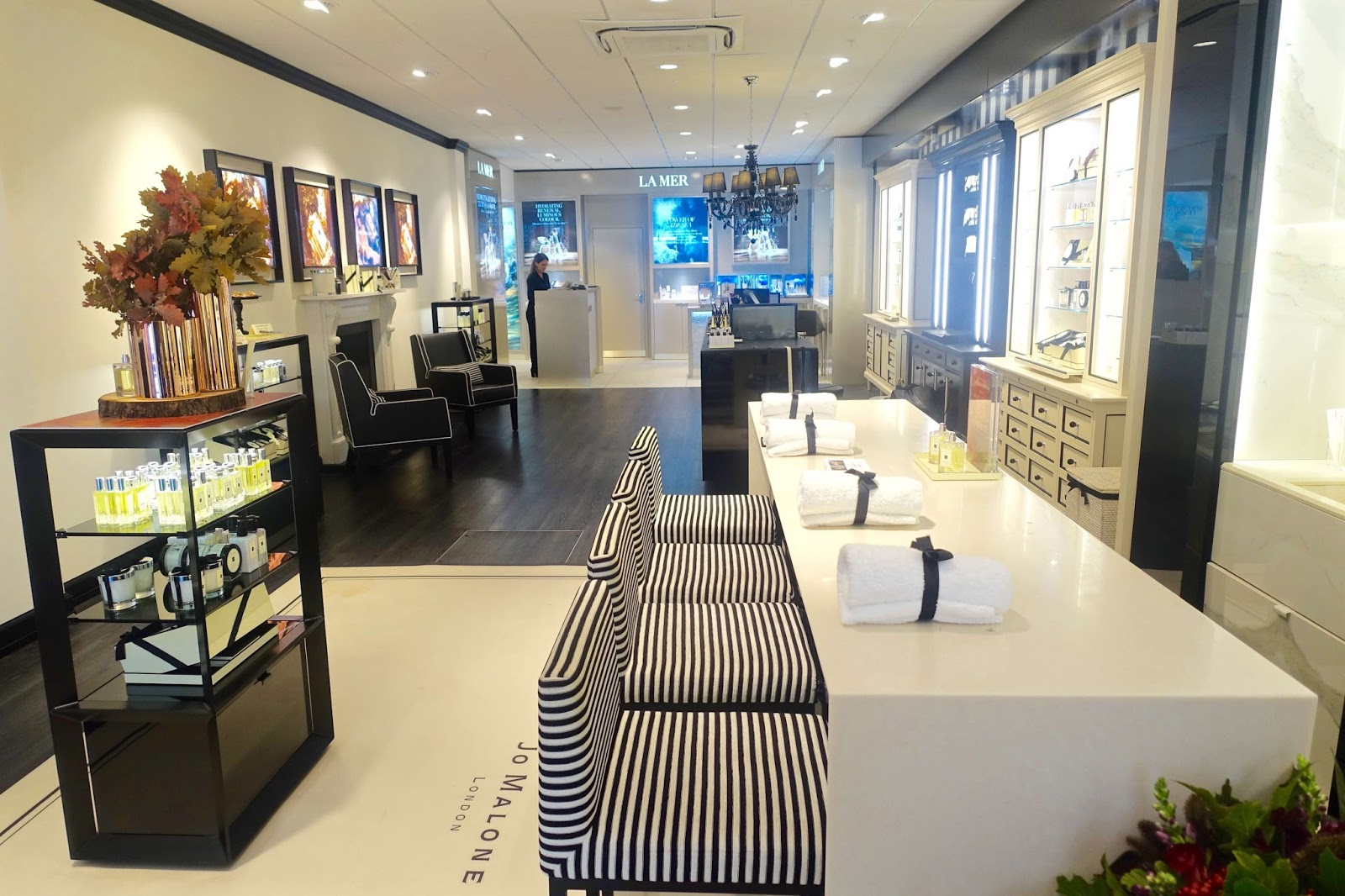 Jo Malone store House of Fraser Chichester layout