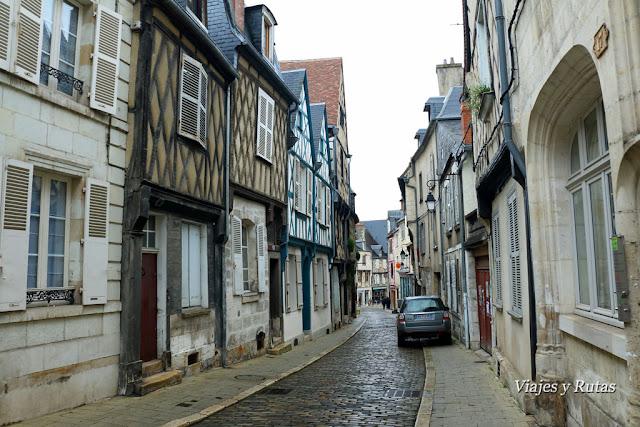 Rue Bourbonnoux, Bourges