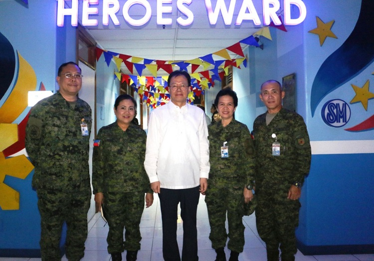 LG Honors the Heroes of Marawi by Donating to AFP Health Service Command