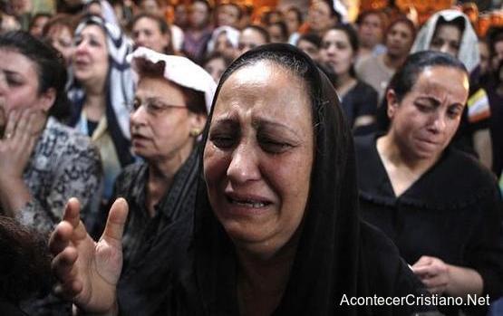 Cristianos copto perseguidos en Egipto