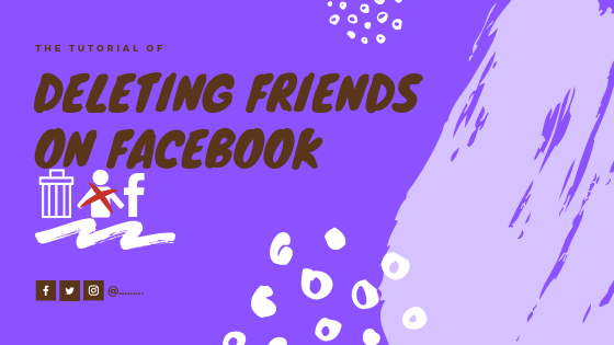 How Do You Remove A Friend From Facebook<br/>