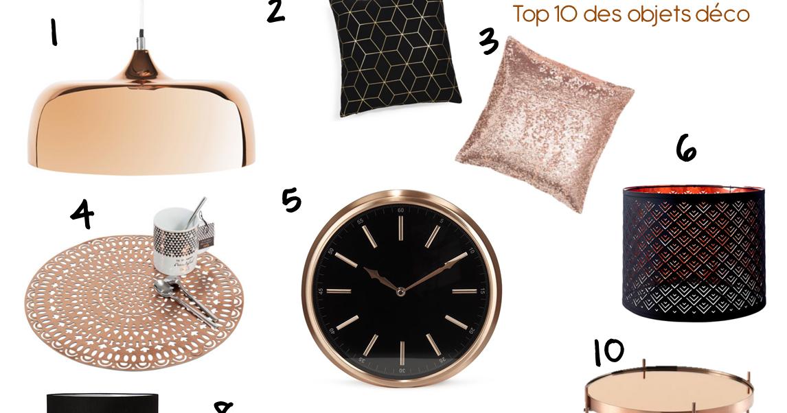 Le cuivre top 10 des objets deco marionsamsam blog mode healthy et lifestyle - Objet deco cuivre ...