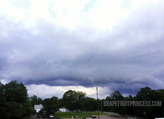 Wordless Wednesday LinkUp // Storm Clouds