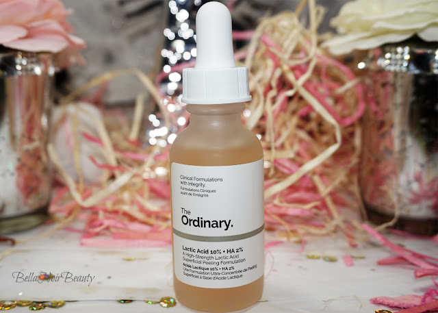 The Ordinary Lactic Acid 10% + HA 2% | bellanoirbeauty.com