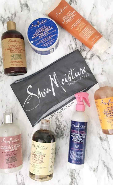 Not including SheaMoisture in a relaxed hair regimen | A Relaxed Gal