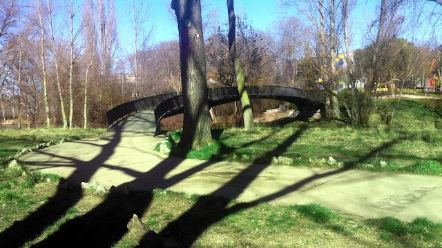 Puente del verde al azul, 2016 Abbé Nozal
