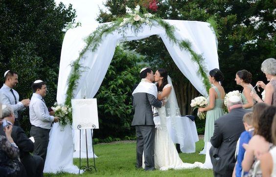 Casamento Judeu, chupá (altar)