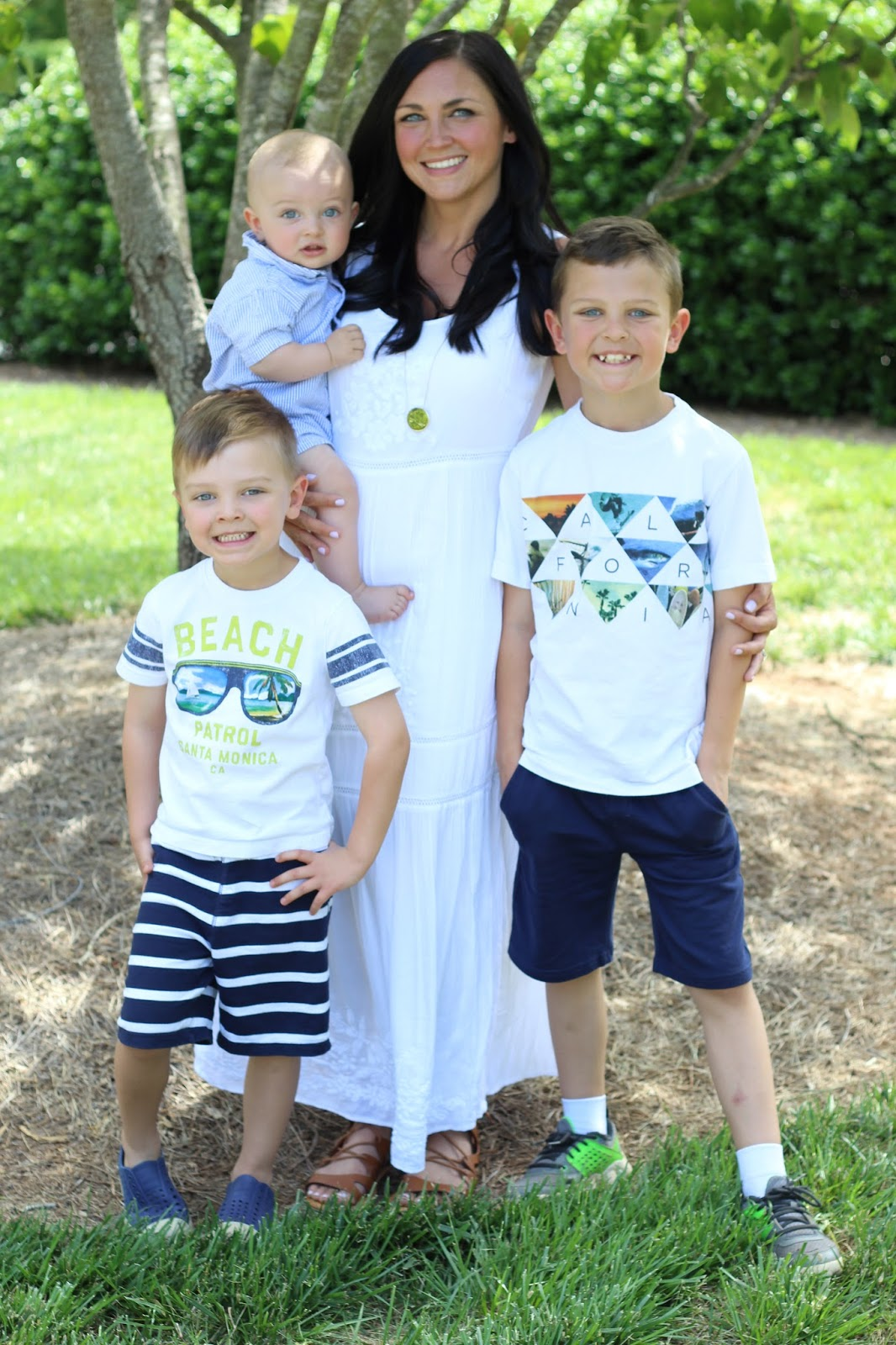 Mother's Day Style, Mom of 3 boys