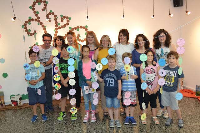 Γιορτή έναρξης της Καλοκαιρινής Εκστρατείας Ανάγνωσης και Δημιουργικότητας στη Δημοτική Βιβλιοθήκη Λάρισας (ΦΩΤΟ)