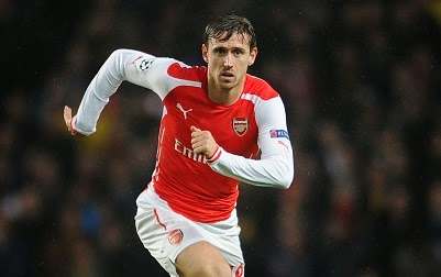 Arsenal deny Nacho Monreal links