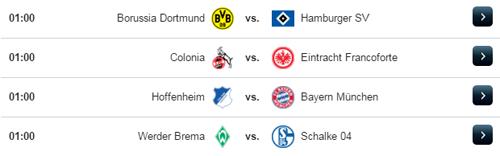 Jadwal Liga Jerman Rabu 6 April 2017