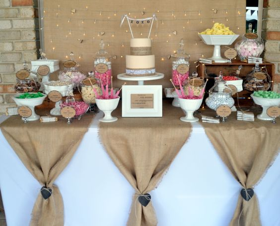 Beautiful Bridal DIY Burlap Wedding Reception Ideas