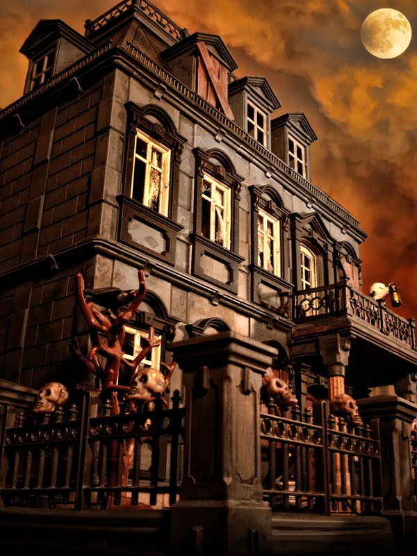 Ghoulie Girls Fdu Playmobil Haunted House