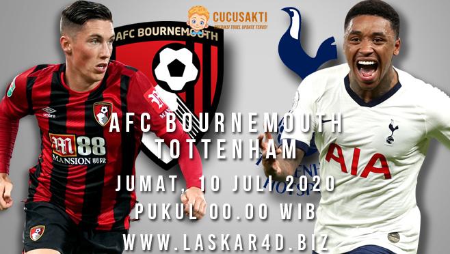 Prediksi Bola AFC Bournemouth vs Tottenham Jumat 10 Juli 2020