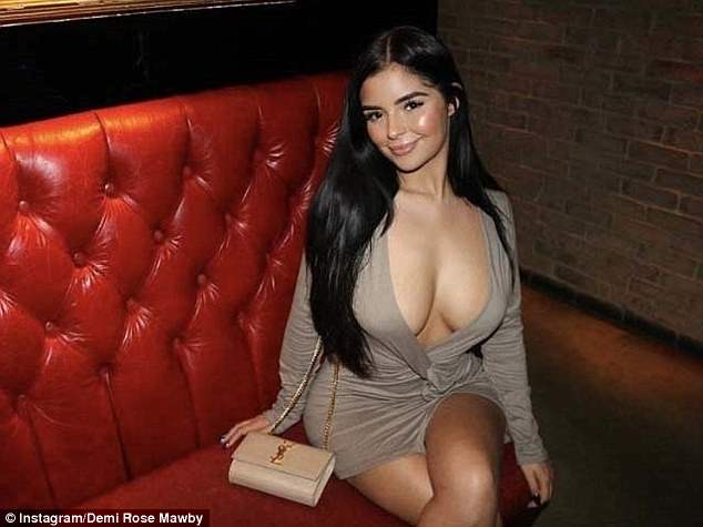 Demi Rose shares sizzling sexy photos while on holiday in Mexico