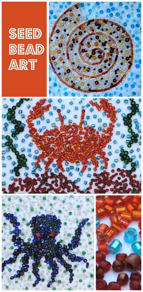 seed bead art
