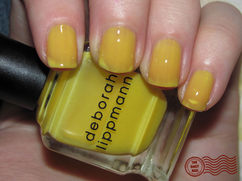 The Daily Nail Reviews: Deborah Lippmann Yellow Brick Road