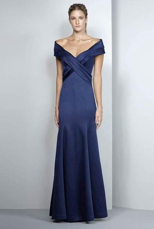 040c0a64d2 vestido de festa azul marinho