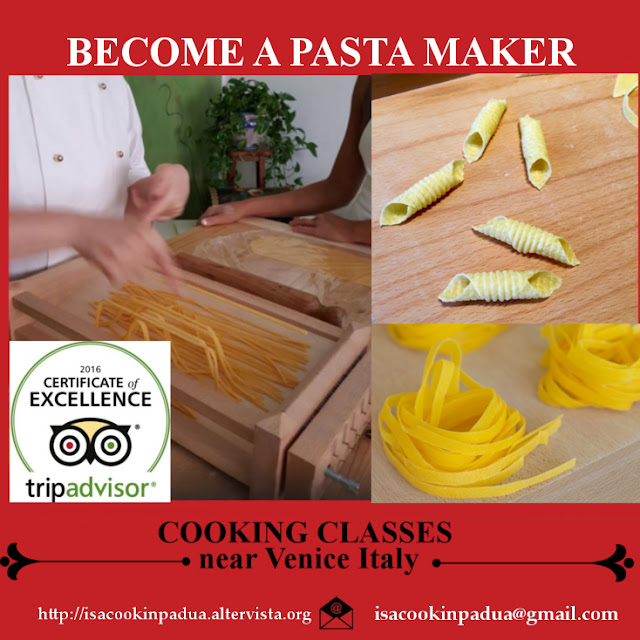 Mama Isa's Cooking School in Venice Italy