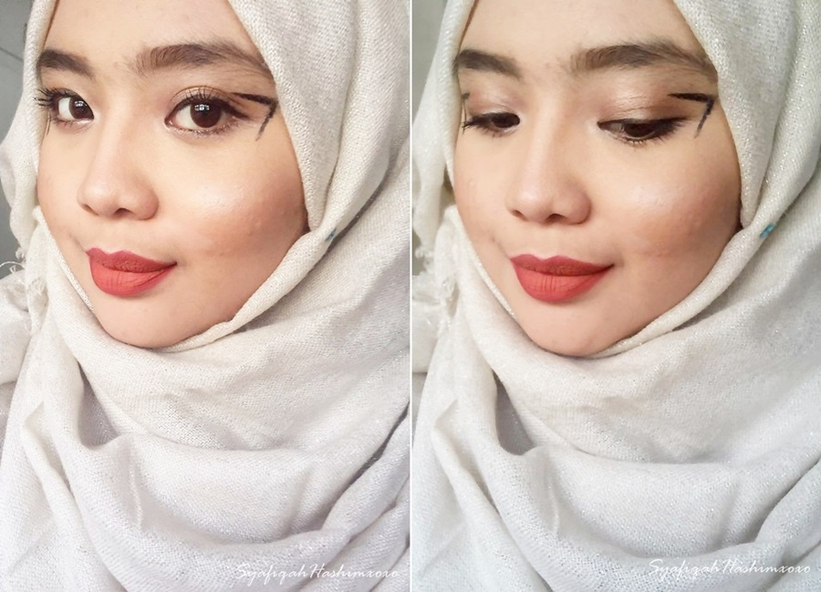 SyafiqahHashimxoxo: MakeUp Look: Gravity