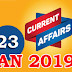 Kerala PSC Daily Malayalam Current Affairs 23 Jan 2019