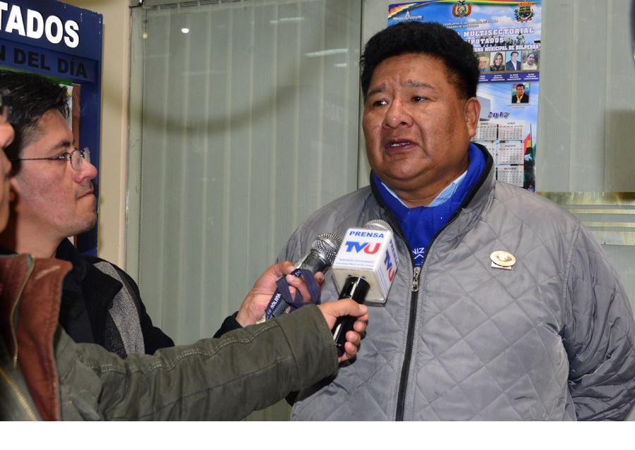 Diputado del MAS cambió el orden de sus nombres, según recordó el abogado Eduardo León / DIPUTADOS