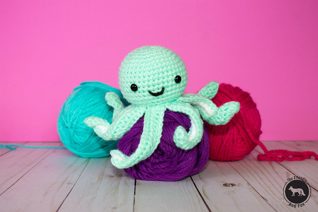 Mini Amigurumi Octopus : Favorite Amigurumi Patterns - The Friendly Red Fox