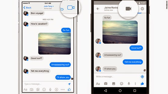 Free Video Calling now on Facebook Messenger