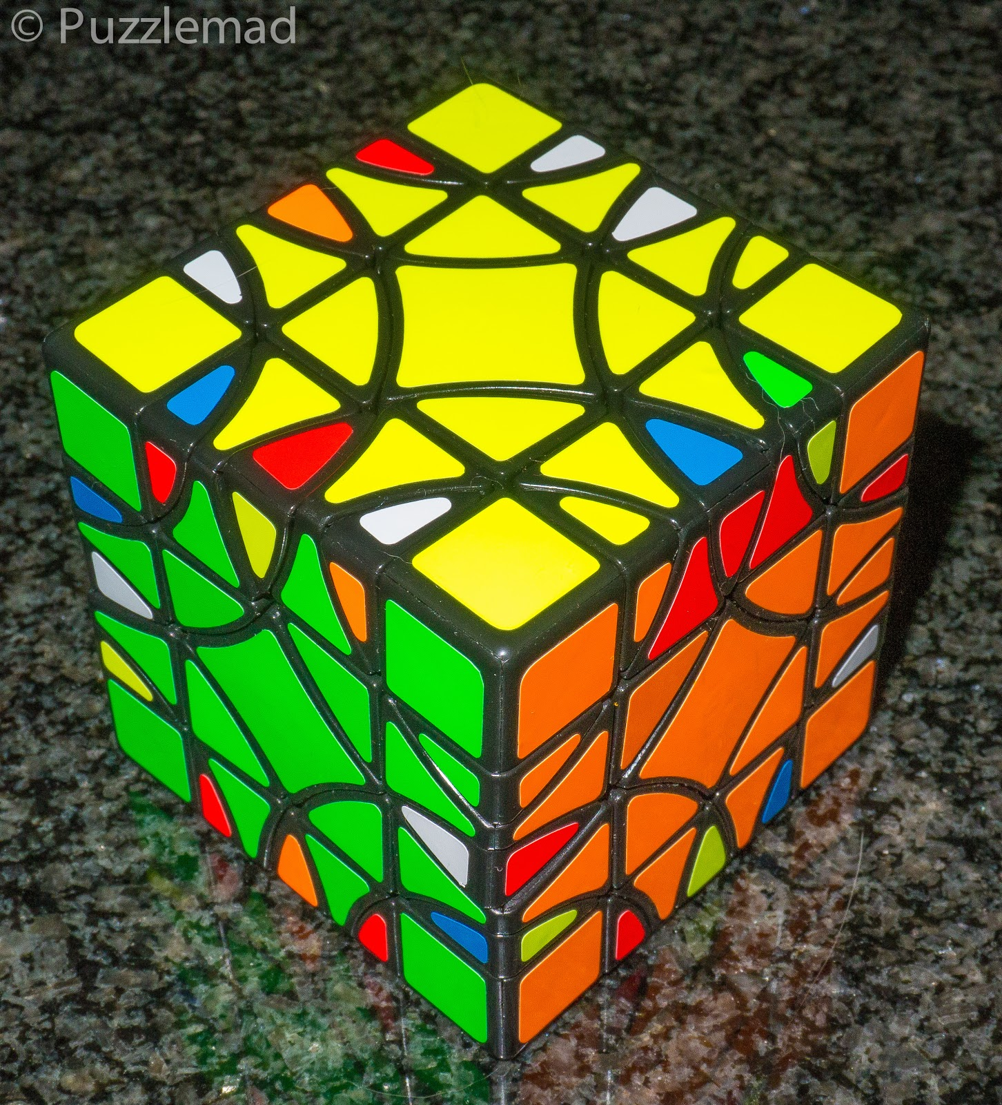 PuzzleMad: I Grille(d) This Cube