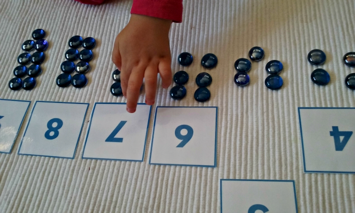 DIY Montessori Inspired Activities and Games for 3   5 year olds     DIY Cards and Counters are one of the easiest Montessori materials to make  at home at a very low cost  If you would like our printable with blue number  hop
