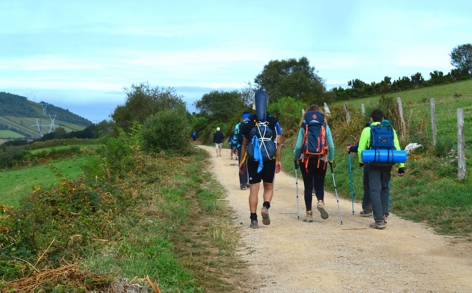 Getting caught up in the Camino experience was what I looked forward to with each day's dawn.