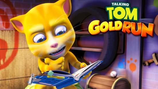 talking tom: golden run game apk